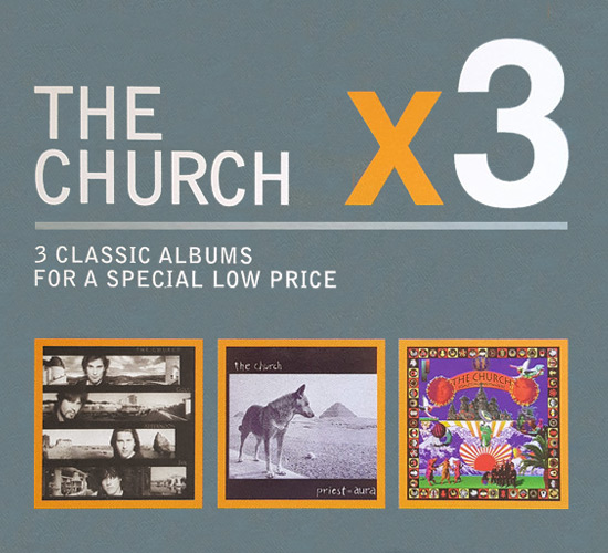 The Church x3 (Mushroom Triple Box Set) Cover