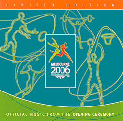Melbourne 2006: Commonwealth Games Opening Ceremony - Booklet Cover