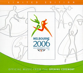 Melbourne 2006: Commonwealth Games Opening Ceremony - Outer Sleeve