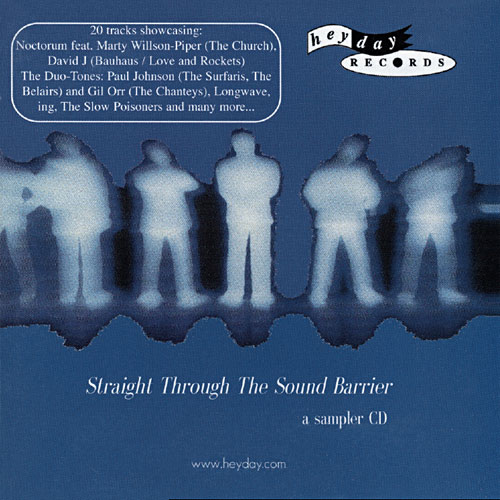 Straight Through The Sound Barrier - a sampler CD Cover