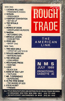 Rough Trade Promotional Cassette #3: NMS - July 1989 - Cassette