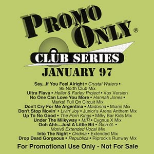 Promo Only: Club Series - January 97 Cover