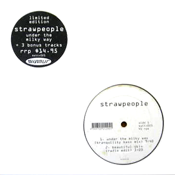 Strawpeople - Under The Milky Way 12inch Cover