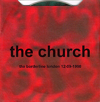 The Church - The Borderline CDs Cover