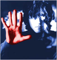 Marty Willson-Piper with red hand