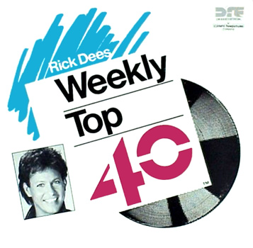 Rick Dees Weekly Top 40 Cover