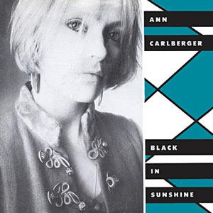 Ann Carlberger - Black In Sunshine Cover