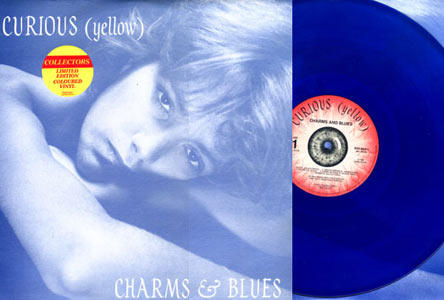 Curious (Yellow) - Charms & Blues - Blue LP Cover