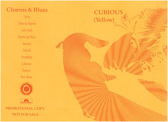 Curious (Yellow) - Charms & Blues Promo Cassette Cover