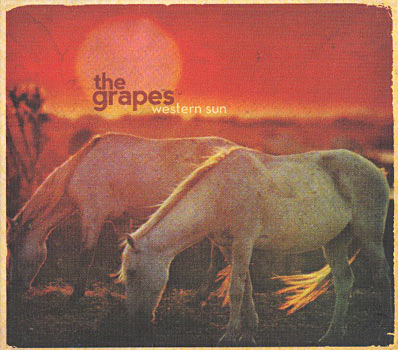 The Grapes - Western Sun Cover