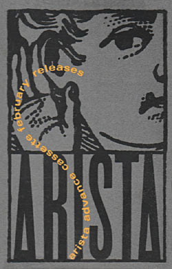 Arista Advance Cassette: February Releases Cover