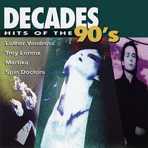 Decades: Hits Of The 90's Cover