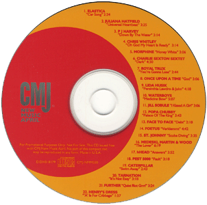 CMJ New Music Monthly Volume 20 - April 1995 Disc