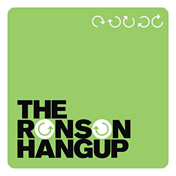 The Ronson Hangup - The Ronson Hangup Cover