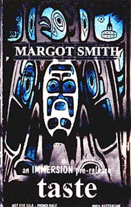 Margot Smith - Taste Pre-Release Cassette Cover