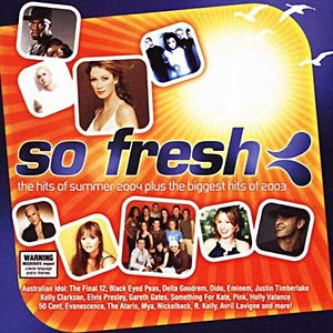 So Fresh: The Hits Of Summer 2004 Plus The Biggest Hits Of 2003 Cover