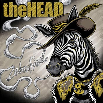 The Head - Zebrafied Cover