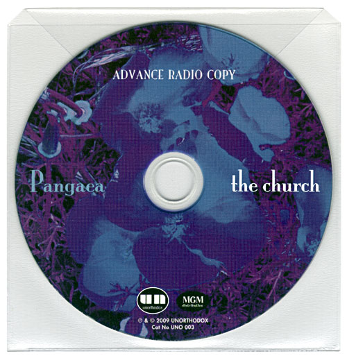 The Church - Pangaea Advance Radio Copy - Disc in Clear Sleeve