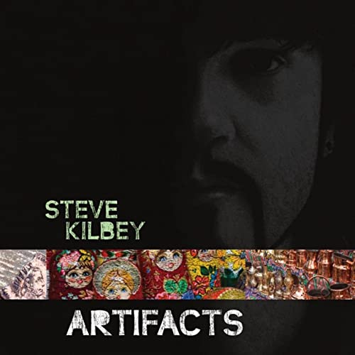 Steve Kilbey - Artifacts - Second Motion Cover
