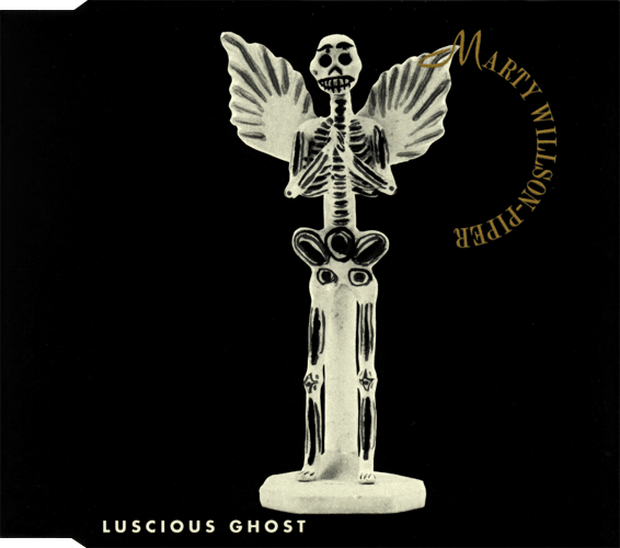 Marty Willson-Piper - Luscious Ghost Cover for Rykodisc D 11282 (Australia)