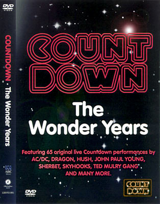 Countdown: The Wonder Years DVD Set Cover